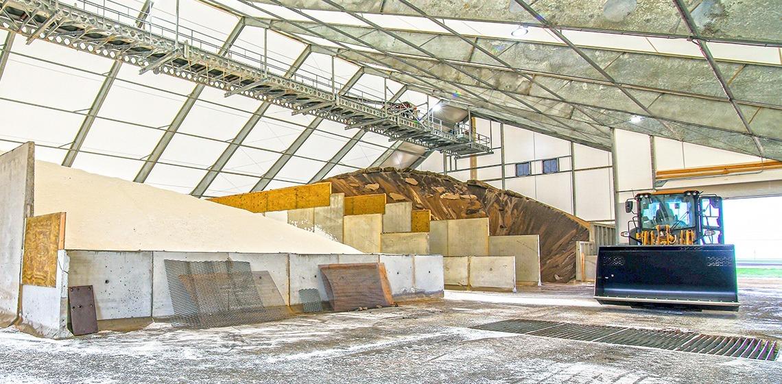 Tronson Grain Fertilizer Storage