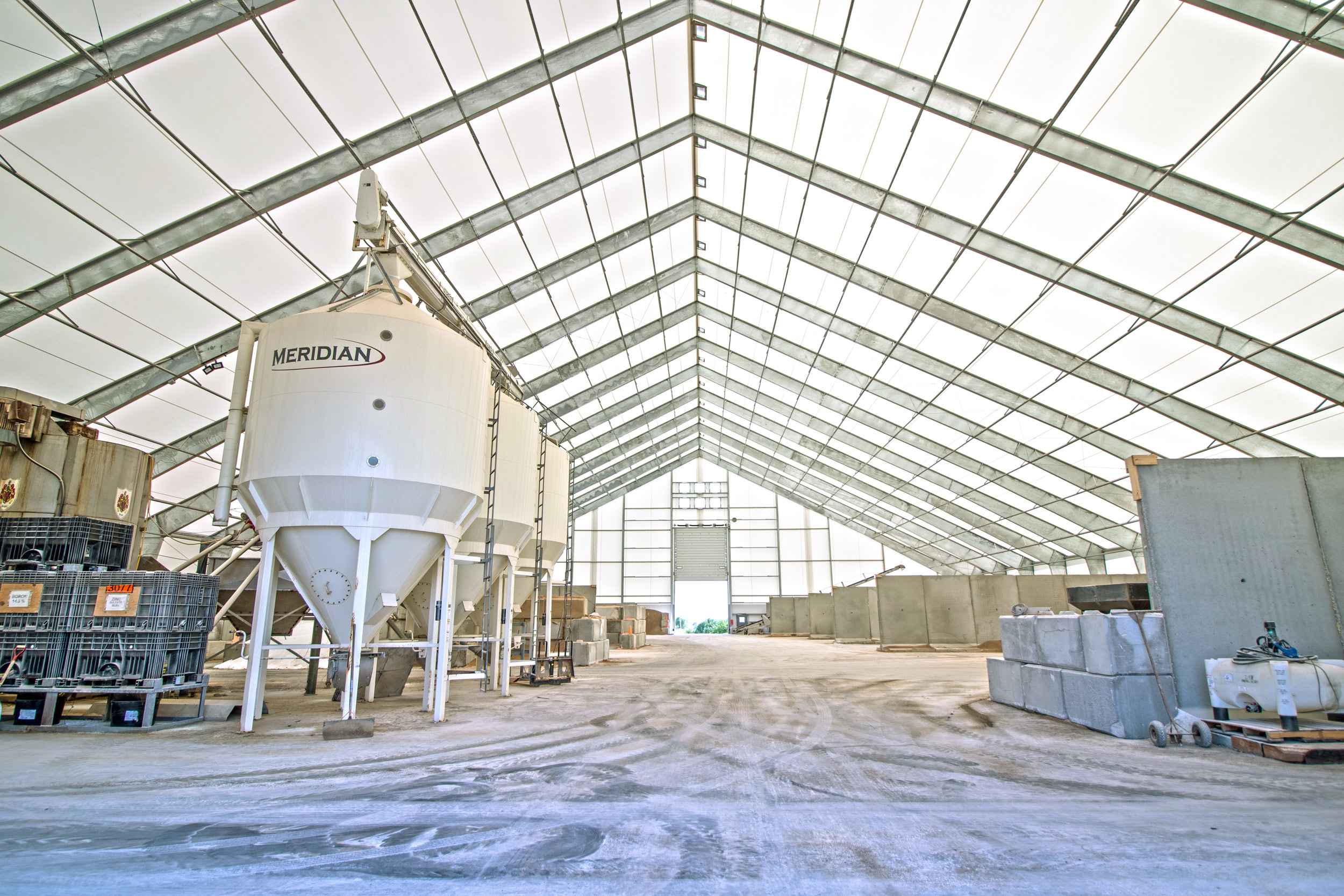 fabric fertilizer storage