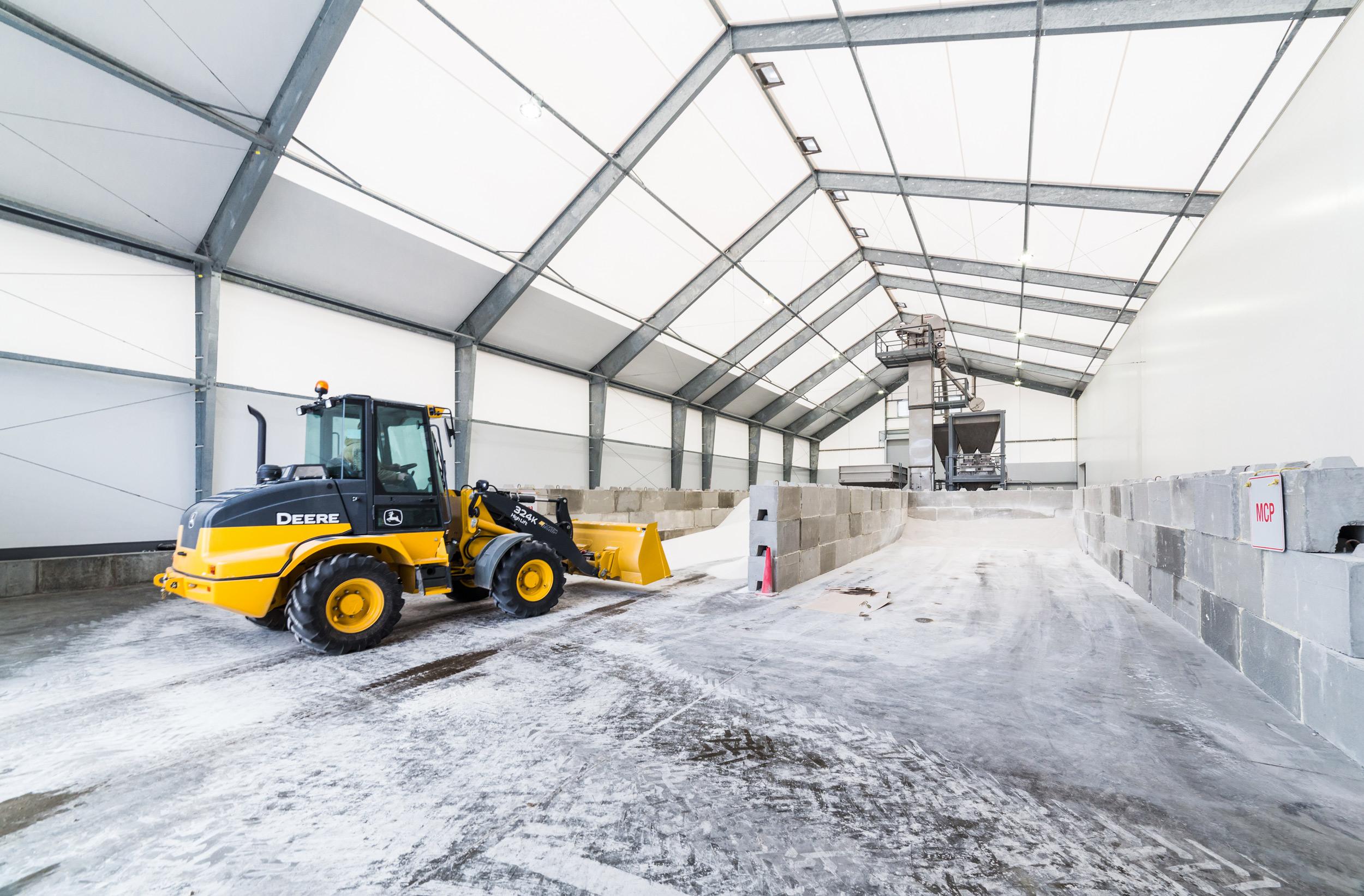agricultural salt storage