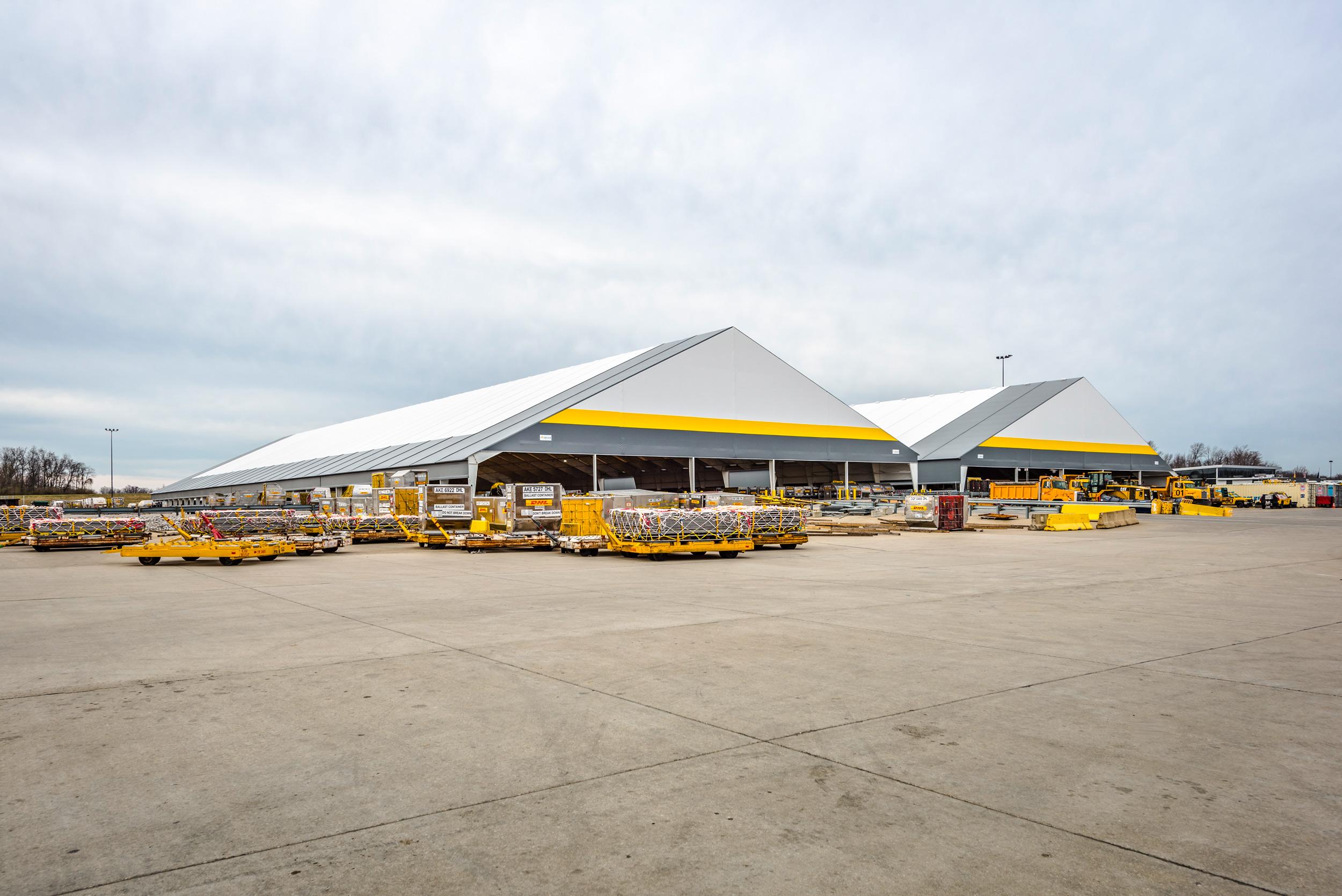 cargo logistics at an airport