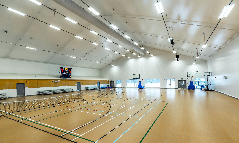 fabric gym building