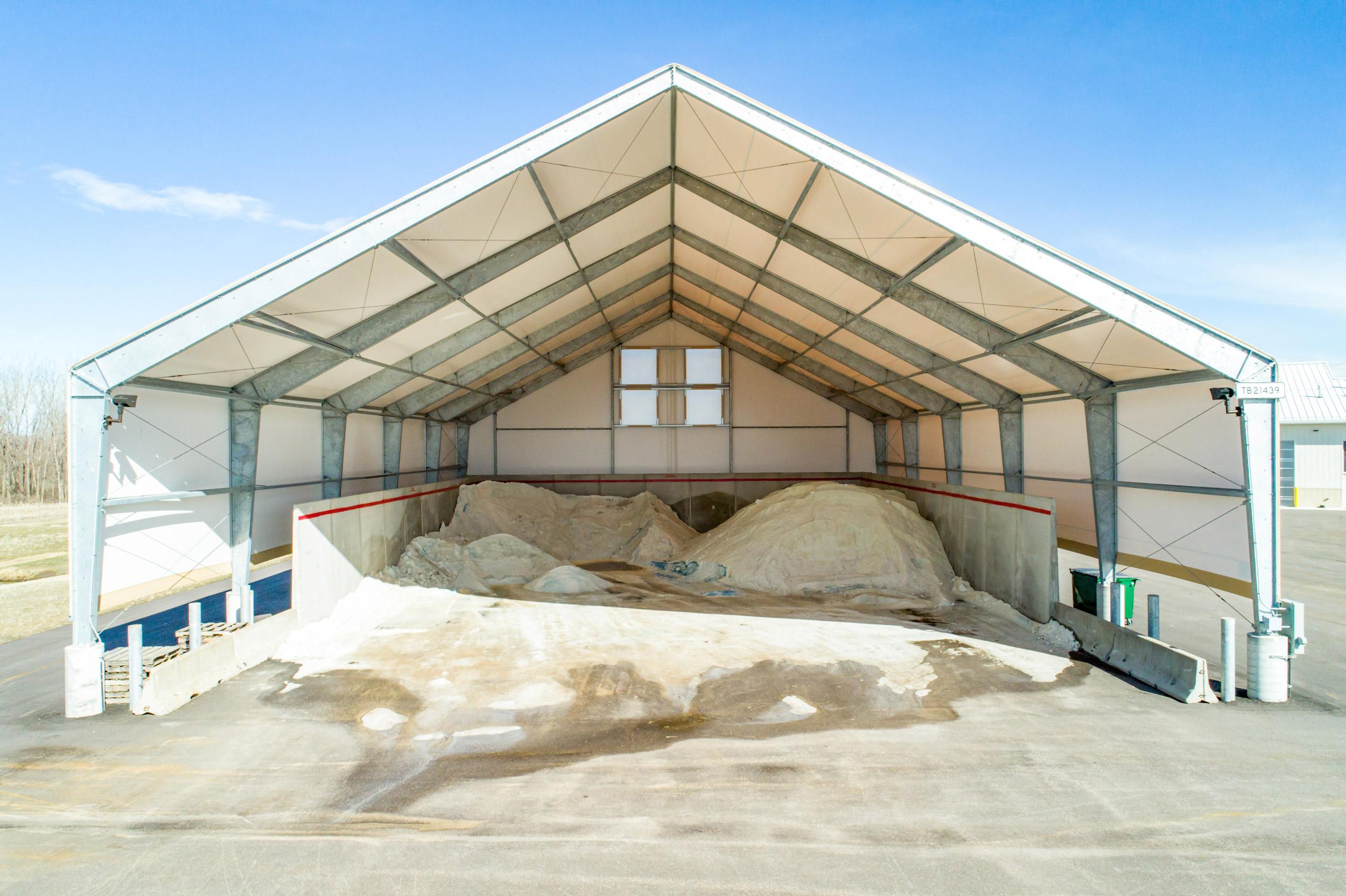 DOT salt storage