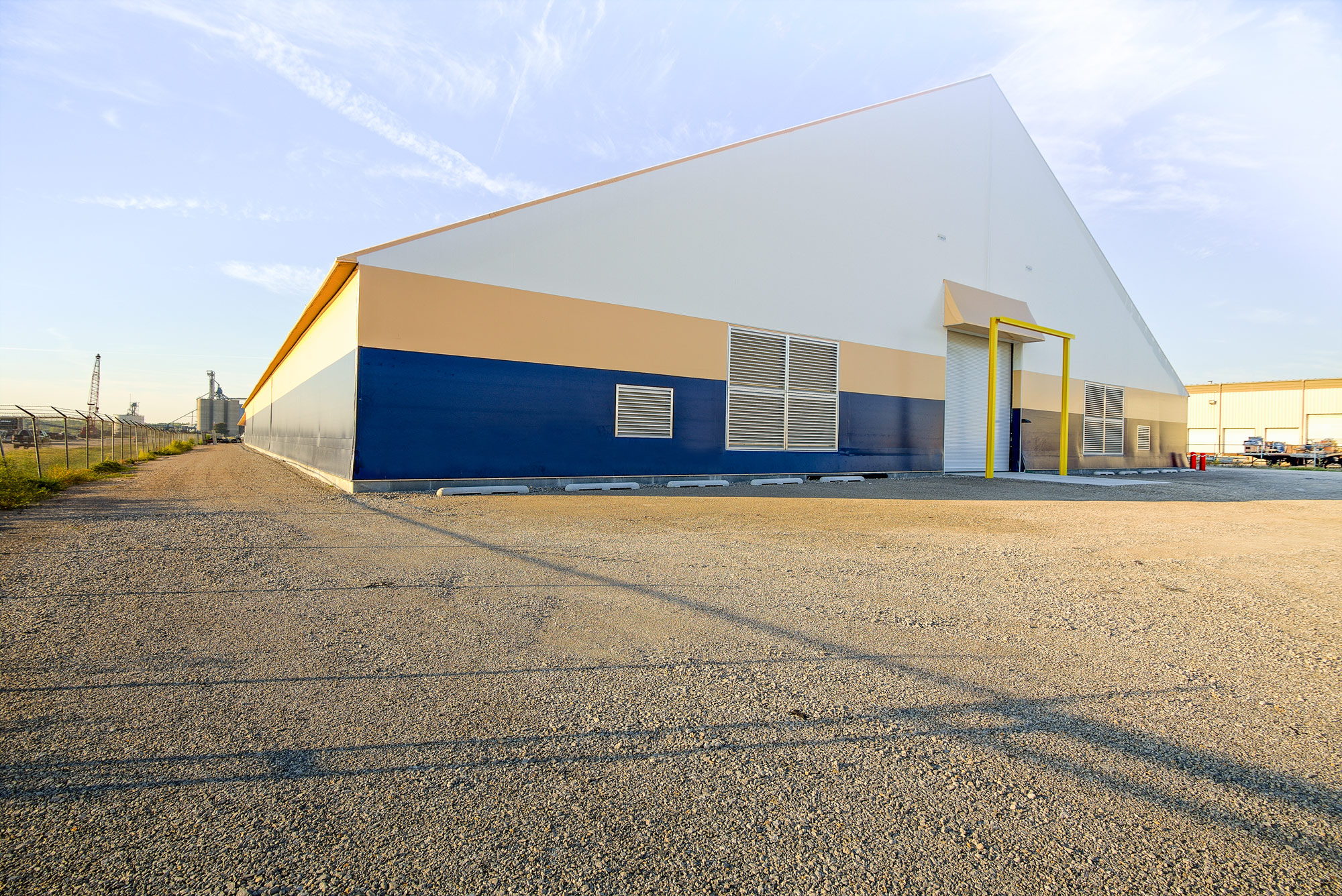 fabric cold storage warehouse