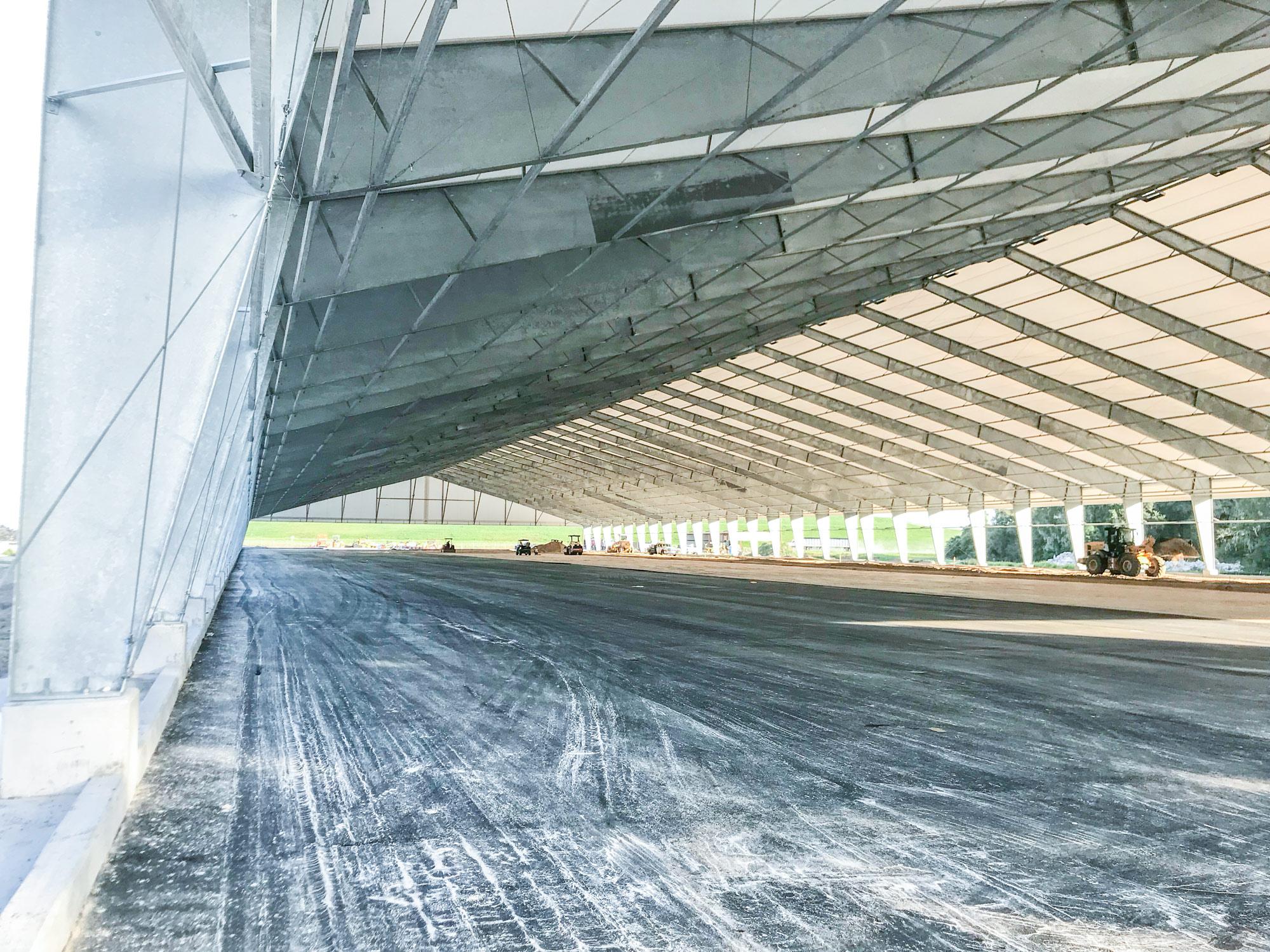 fabric biosolids compost cover