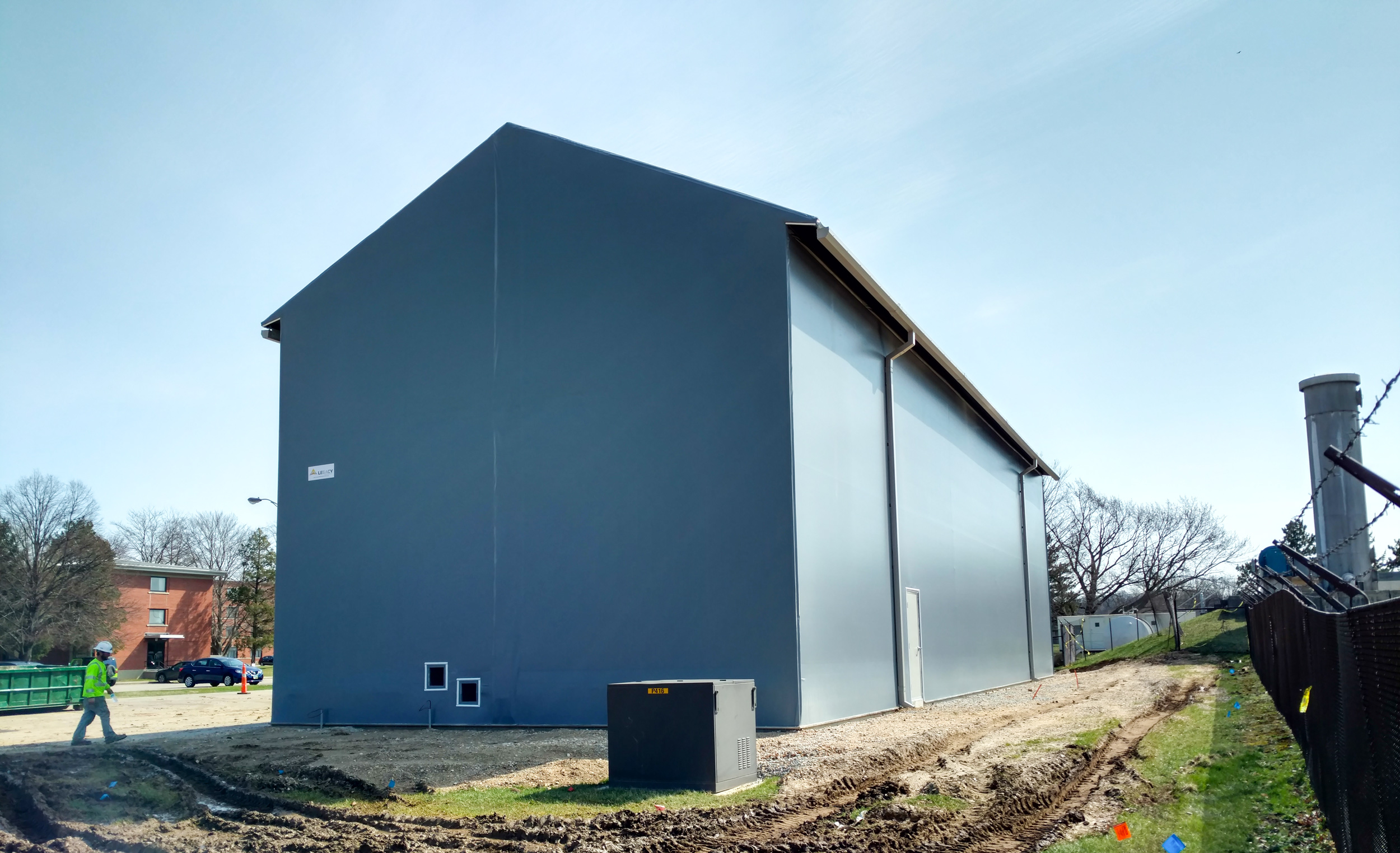 fabric water treatment building