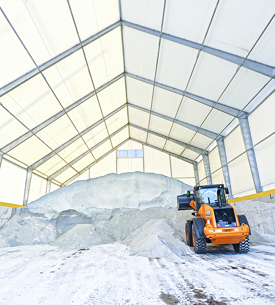 fabric salt storage