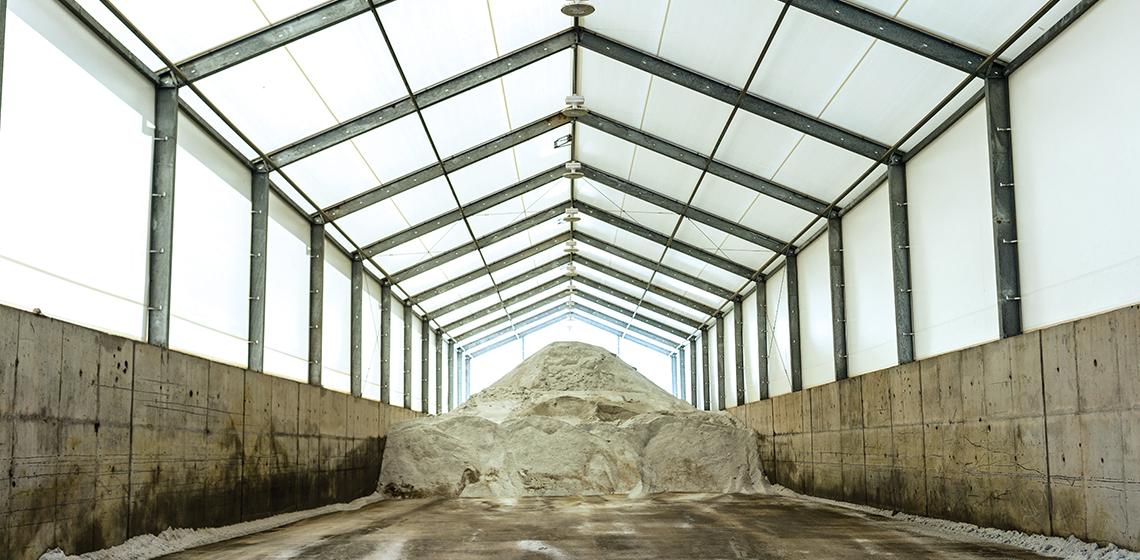 Bethel Park Reserve Road Salt Storage