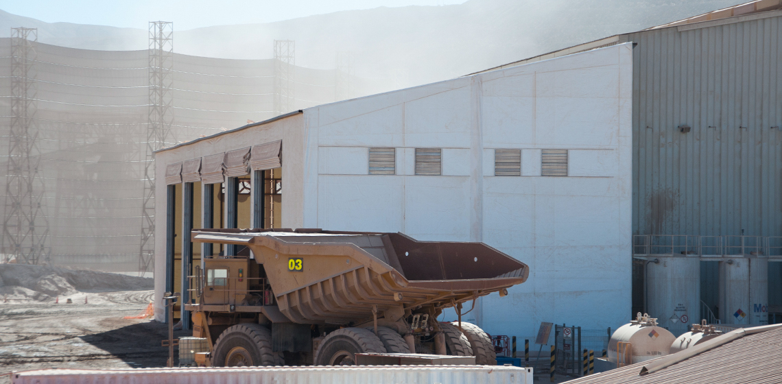 Mining Truck Shop and Maintenance Building